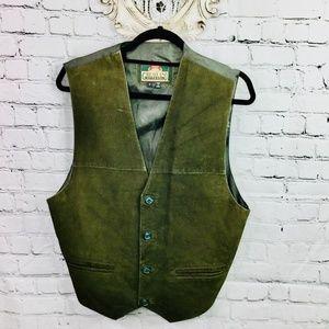 GREATLAND APPAREL: Vintage Suede Vest